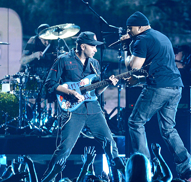 Travis Barker Tom Morello LL Cool J