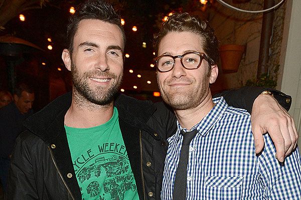 'Glee' Star Matthew Morrison Recording 'Luck Be a Lady' With Adam Levine