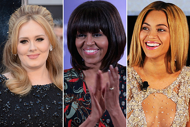 Adele Michelle Obama Beyonce