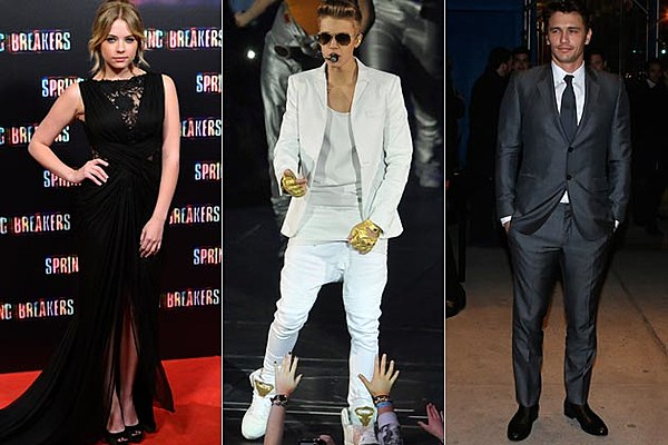 ashley benson says justin bieber �not happy� about james