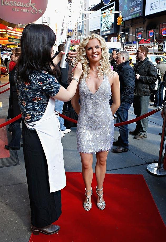 Britney Spears Wax Figure