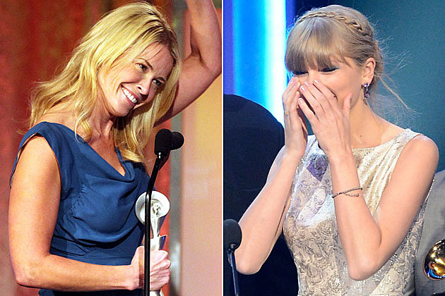 Chelsea Handler and Taylor Swift