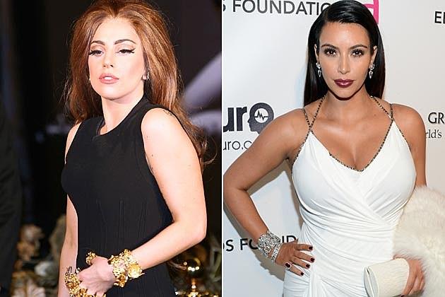 Lady Gaga Kim Kardashian