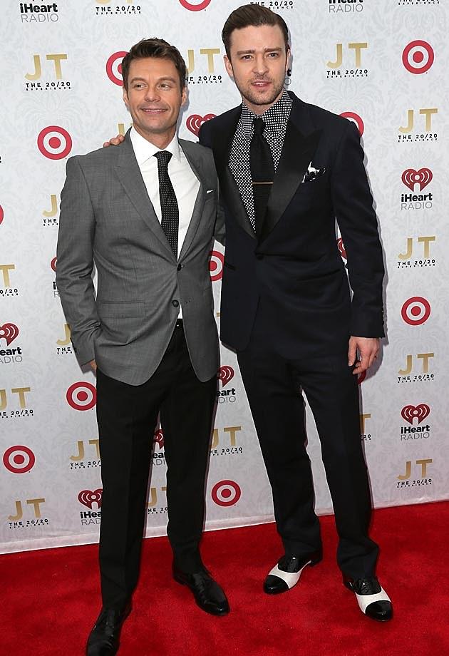 Ryan Seacrest Justin Timberlake