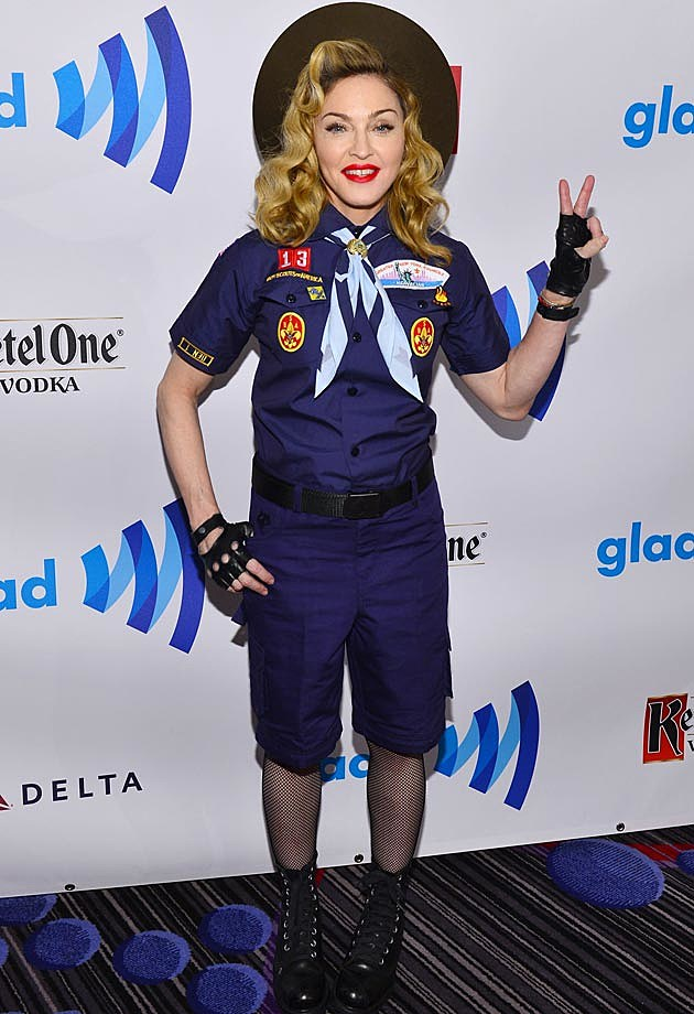 Madonna Boy Scout GLAAD