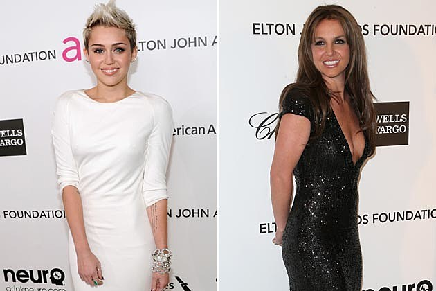 Miley Cyrus Britney Spears