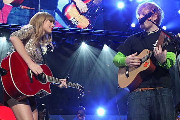 Taylor Swift + Ed Sheeran Experience Issues During Duet at Jersey Gig