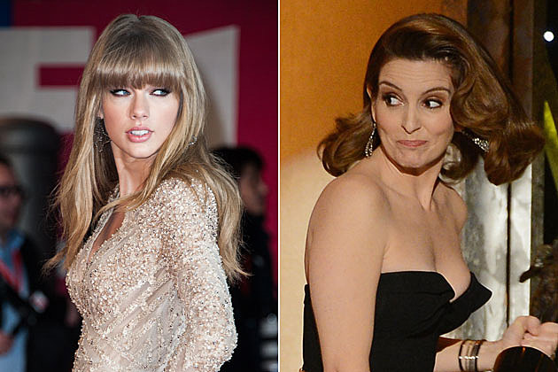 Taylor Swift and Tina Fey