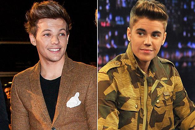 Louis Tomlinson Justin Bieber