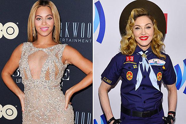 Beyonce Madonna