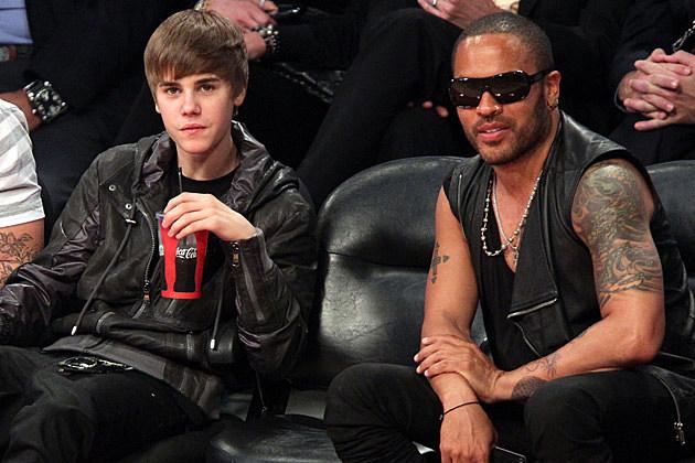Justin Bieber Lenny Kravitz