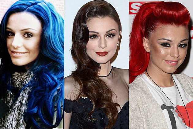 Cher Lloyd Hair Colors