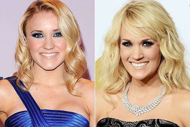 Emily Osment Carrie Underwood