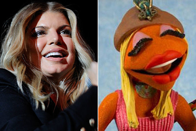 Fergie Janice the Muppet