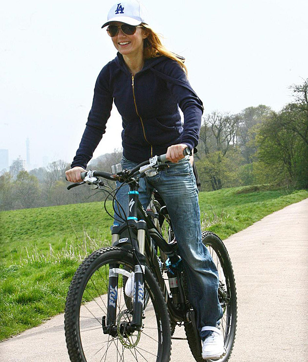 Geri Halliwell Bike Ride