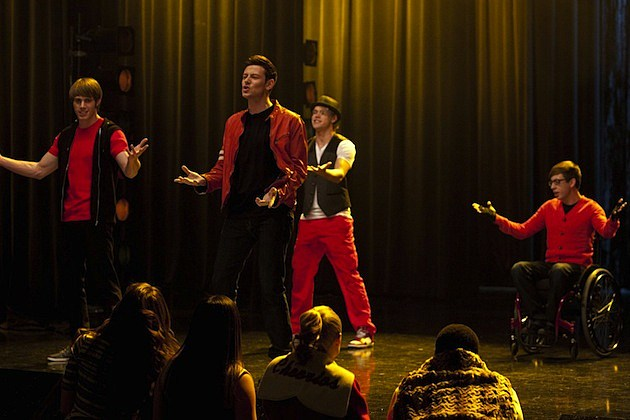 Glee 'Feud'