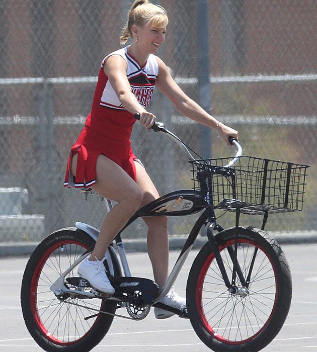 Heather Morris Bike Ride