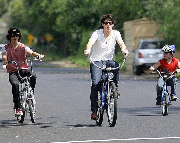 Jonas Brothers Bike Ride