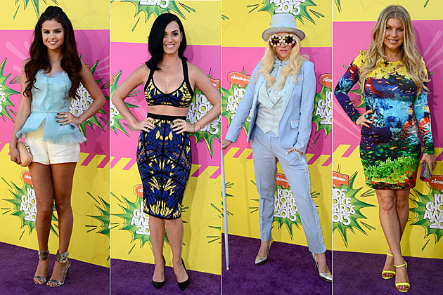 best dressed star at the 2013 kids� choice awards