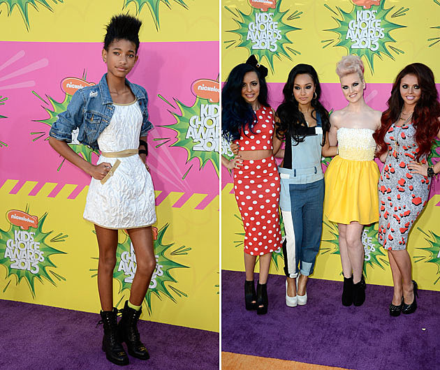 Willow Smith Little Mix Kids Choice Awards 2013