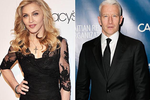 Madonna Anderson Cooper