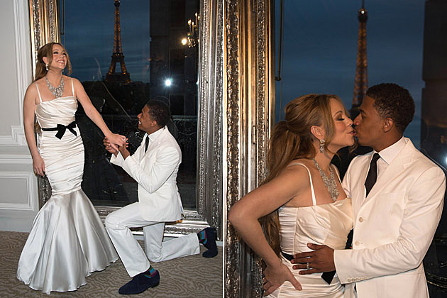 Mariah Carey Nick Cannon Vow Renewal Paris