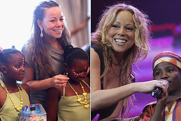 Mariah Carey Mandela Children's Foundation Live 8 London Concert