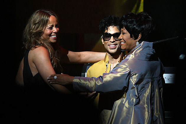 Mariah Carey Prince and Patti LaBelle