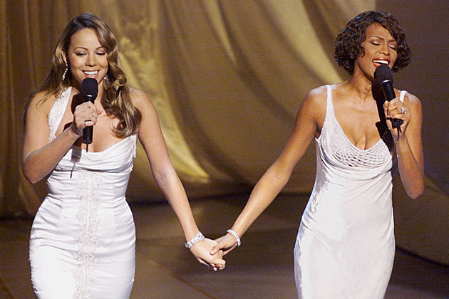Mariah Carey Whitney Houston