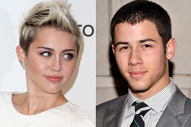 Miley Cyrus Nick Jonas