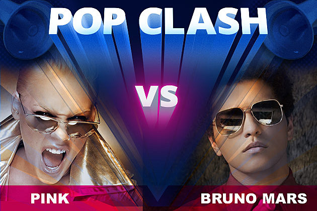 Pink Bruno Mars Pop Clash
