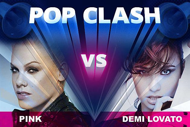 Pink Demi Lovato