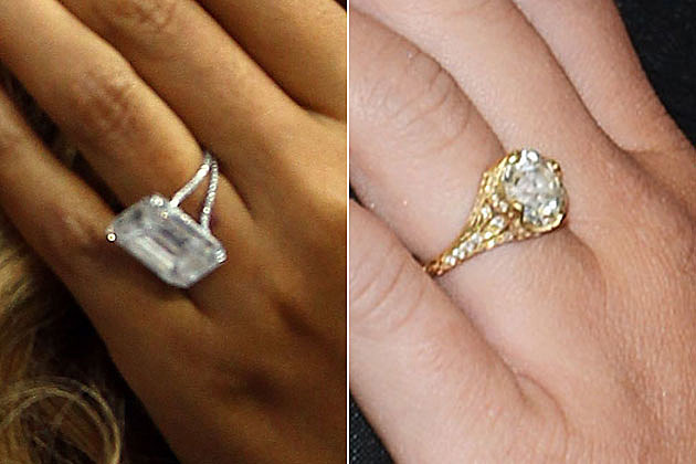 Would You Rather… Have Beyonce or Miley Cyrus\' Engagment Ring?