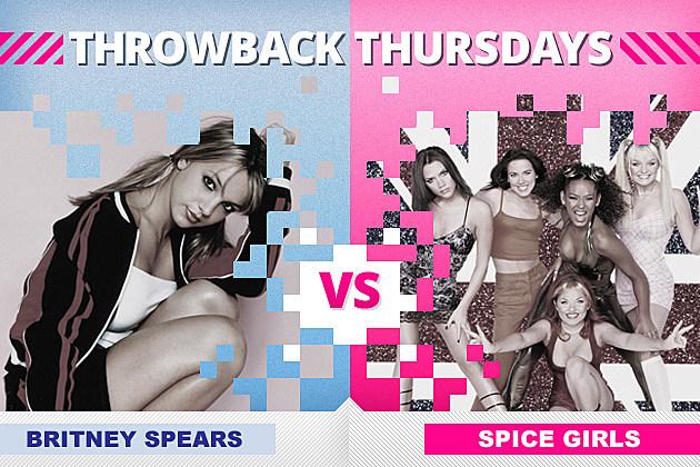 Britney Spears Spice Girls Throwback Thursdays