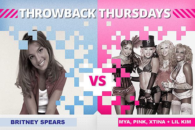 Britney Spears Mya Pink Christina Aguilera Lil Kim