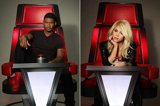 Usher Shakira The Voice