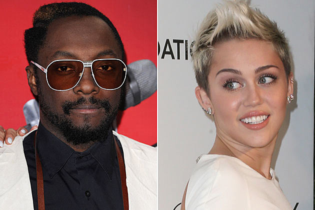 will.i.am and Miley Cyrus
