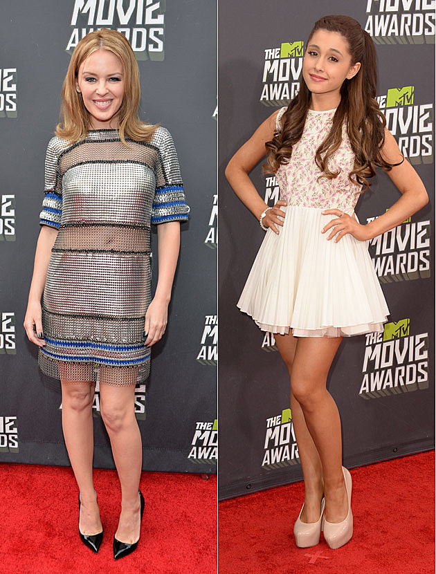Kylie Minogue Ariana Grande