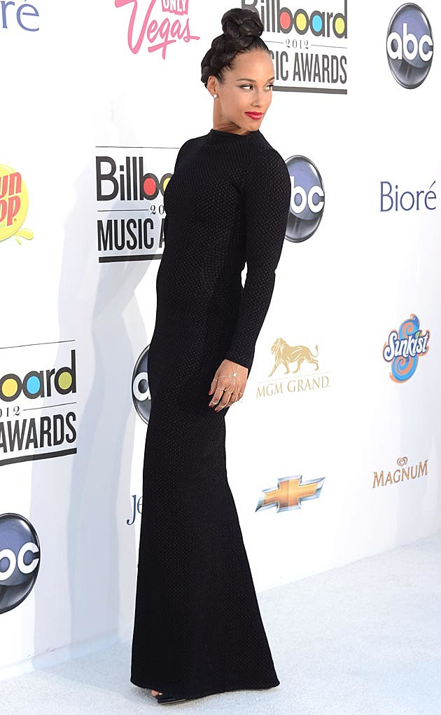 Alicia Keys Azzedine Alaia Billboard 2012