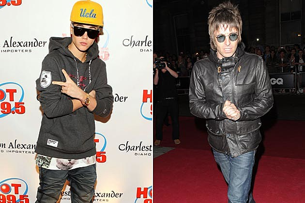 Justin Bieber Liam Gallagher