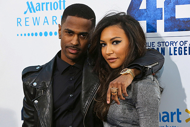 Big Sean Naya Rivera Glee