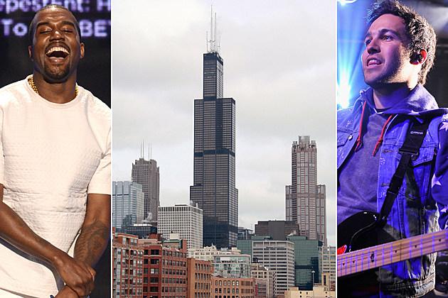 Kanye West Chicago Pete Wentz