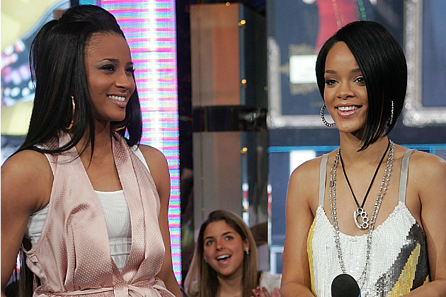 Ciara and Rihanna