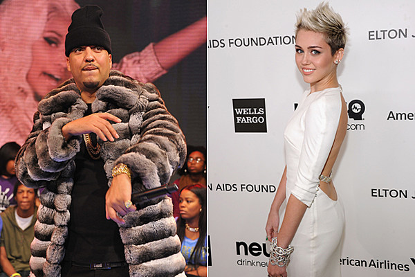 miley dating french montana Miley cyrus lyrics: i let the goons drive the lambo / twenty choppers like i'm rambo (montana, hendrix) / i'ma always keep that carbon on me / a million cash with a bad one on me / fuck you mean.