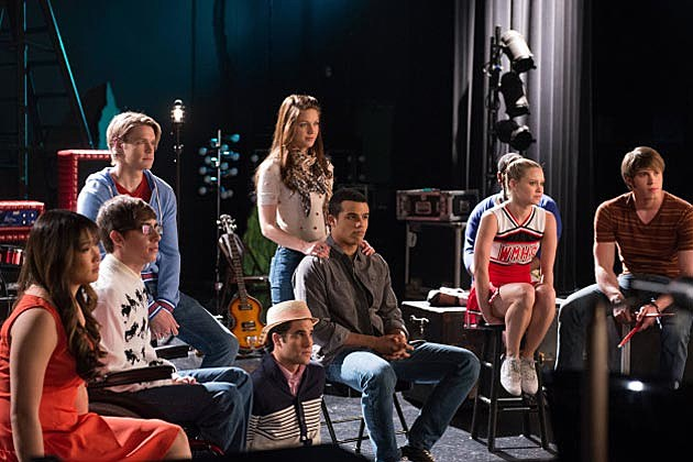 Glee Lights Out