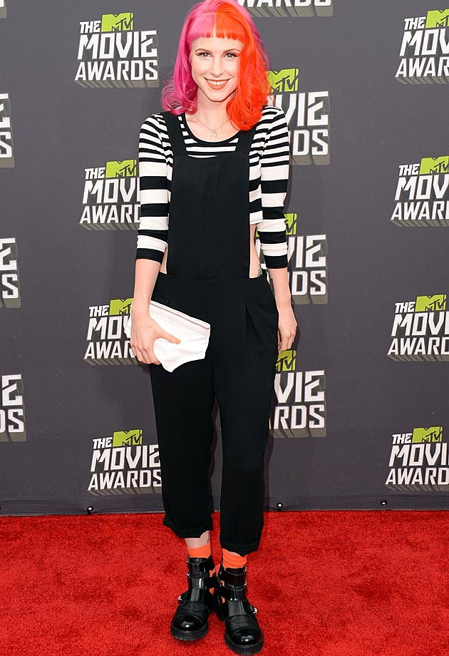 Hayley Williams Paramore 2013 MTV Movie Awards