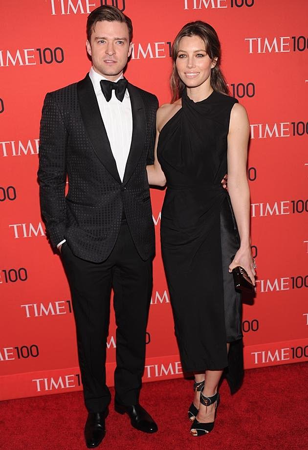Justin Timberlake Jessica Biel Time 100 Gala