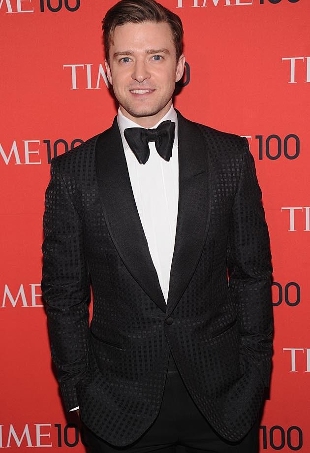 Justin Timberlake Time 100 Gala
