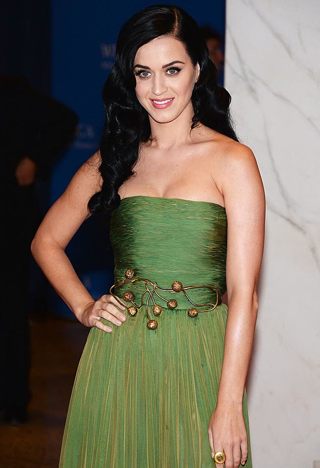 Katy Perry Giambattista Valli White House Correspondents Dinner 2013