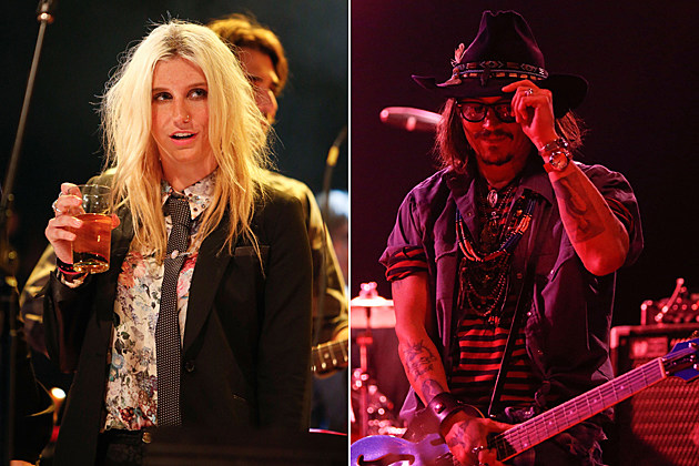 Kesha Johnny Depp